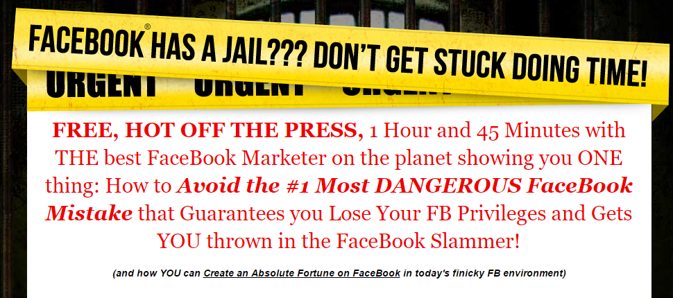 avoid fb jail